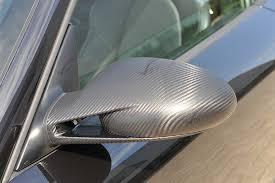 rétroviseur auto covering carbone gris