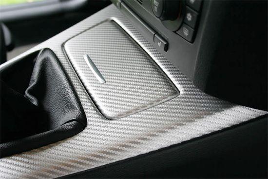 film carbone voiture gris