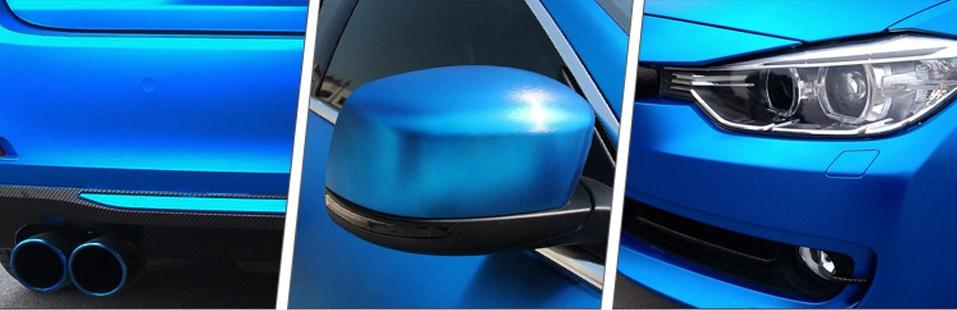 film chrome mat pour voiture