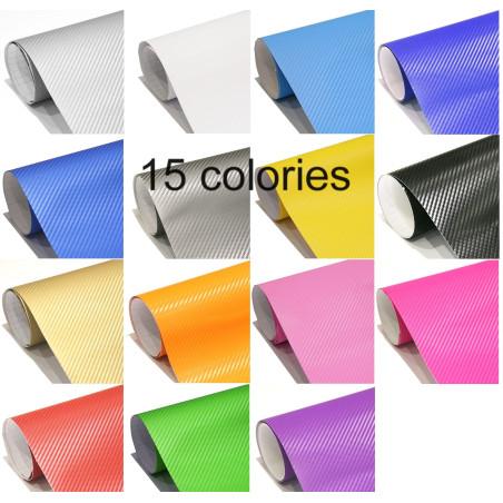 vinyle adhésif carbone 3d -15 colories