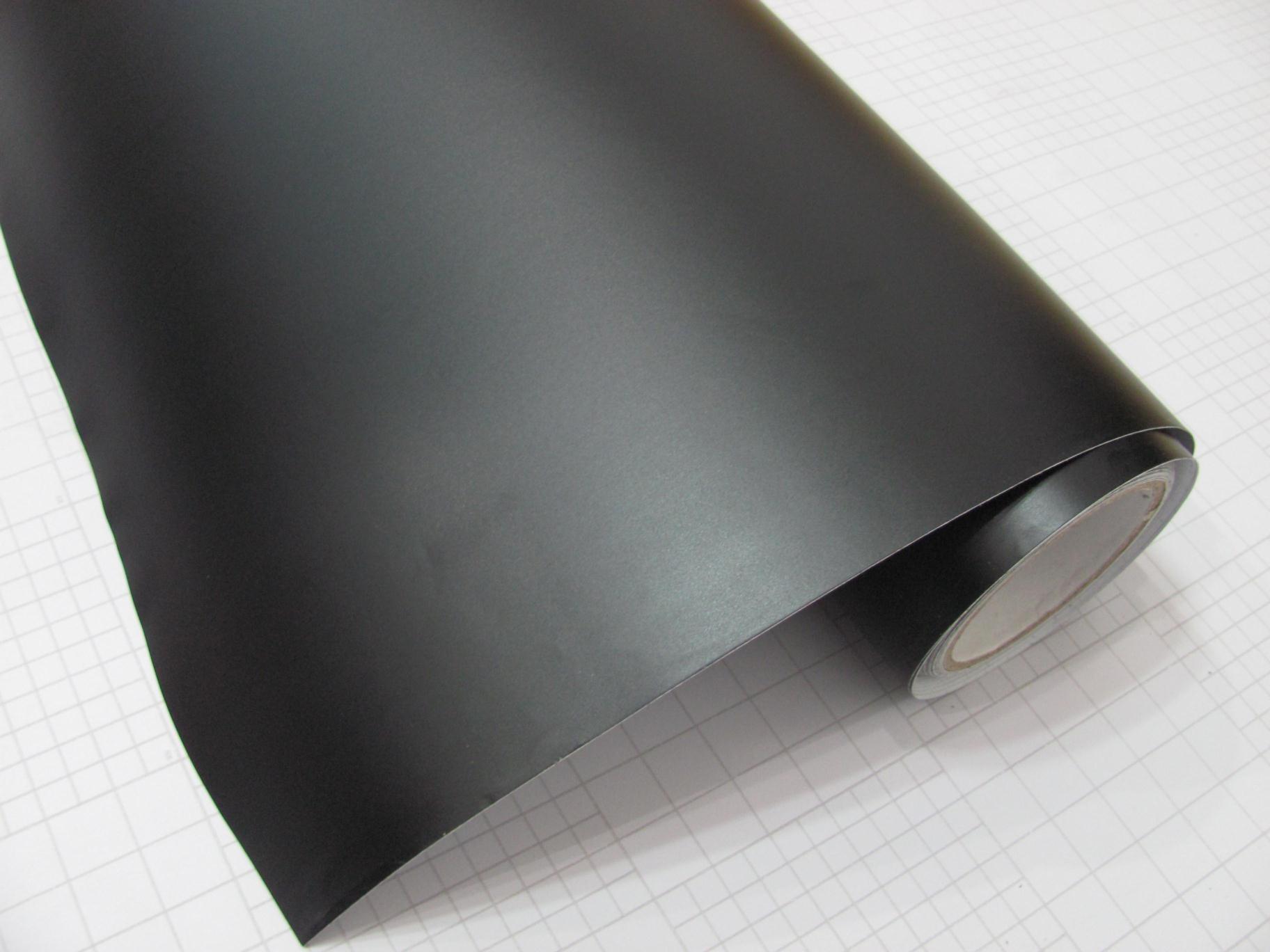 Film Adhesif Covering Noir Mat Pour Covering Automobile Et
