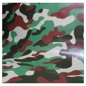 Vinyle Covering camouflage militaire