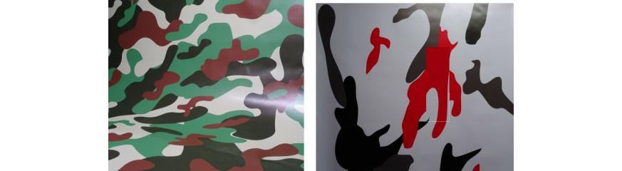 Vinyle camouflage