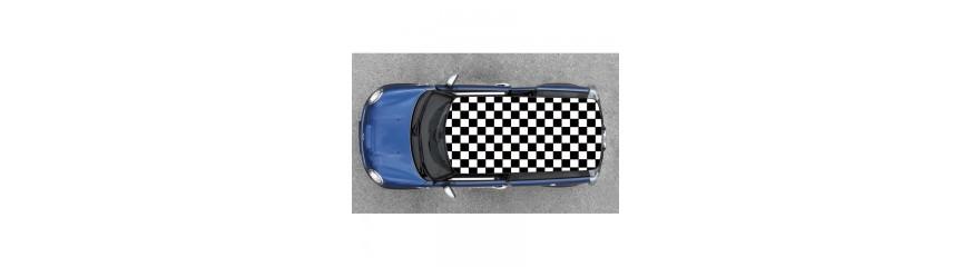 sticker pour toit de voiture