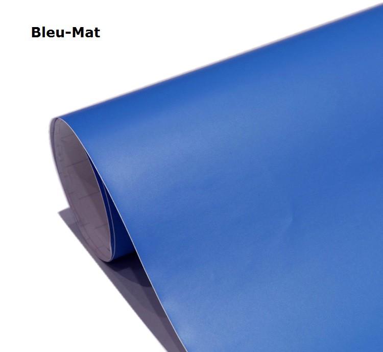 bleu  -Mat