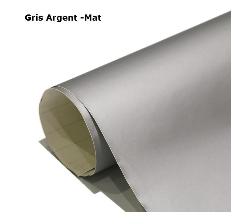 Gris - Argent -Mat