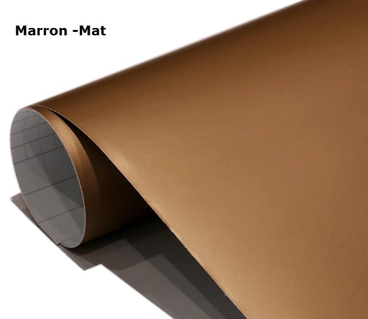 Marron-Mat